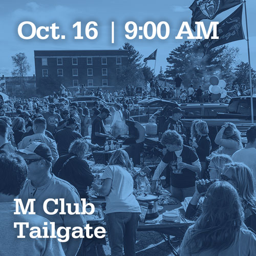 Oct 16 at 9:00AM | M Club Tailgate
